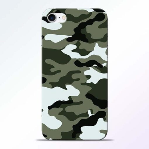 Buy Army Camo iPhone 7 Mobile Cover at Best Price