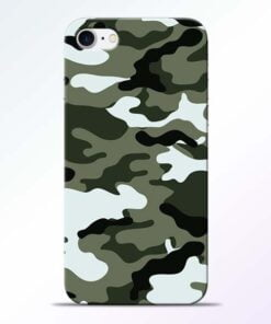 Buy Army Camo iPhone 8 Mobile Cover at Best Price