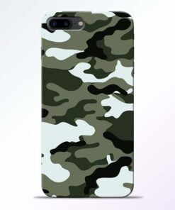 Buy Army Camo iPhone 8 Plus Mobile Cover at Best Price
