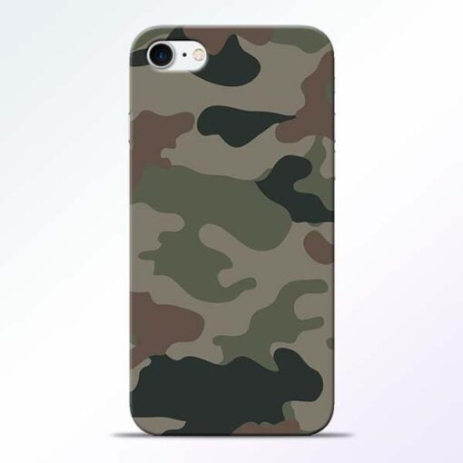 Buy Army Camouflage iPhone 7 Mobile Cover at Best Price