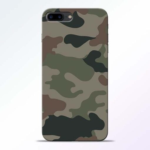 Buy Army Camouflage iPhone 7 Plus Mobile Cover at Best Price