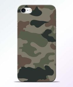 Buy Army Camouflage iPhone 8 Mobile Cover at Best Price