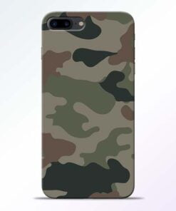 Buy Army Camouflage iPhone 8 Plus Mobile Cover at Best Price
