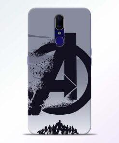 Avengers Team Oppo F11 Mobile Cover