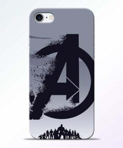 Buy Avengers Team iPhone 7 Mobile Cover at Best Price