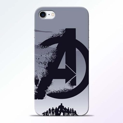 Buy Avengers Team iPhone 8 Mobile Cover at Best Price