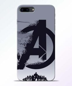 Buy Avengers Team iPhone 8 Plus Mobile Cover at Best Price