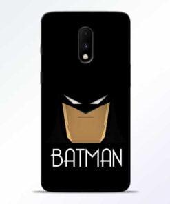 Batman Face OnePlus 7 Mobile Cover