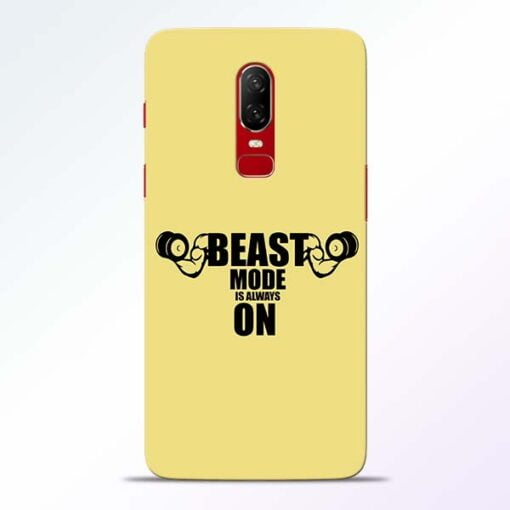 Beast Mode OnePlus 6 Mobile Cover