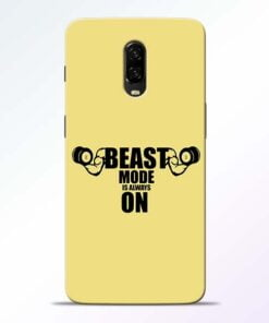 Beast Mode OnePlus 6T Mobile Cover
