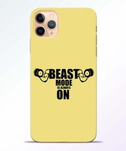 Beast Mode iPhone 11 Pro Mobile Cover