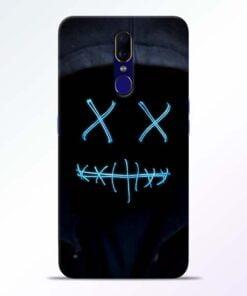 Black Marshmello Oppo F11 Mobile Cover