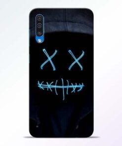 Black Marshmello Samsung A50 Mobile Cover - CoversGap