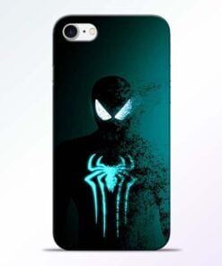 Buy Black Spiderman iPhone 7 Mobile Cover at Best Price