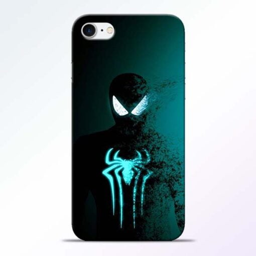 Buy Black Spiderman iPhone 8 Mobile Cover at Best Price
