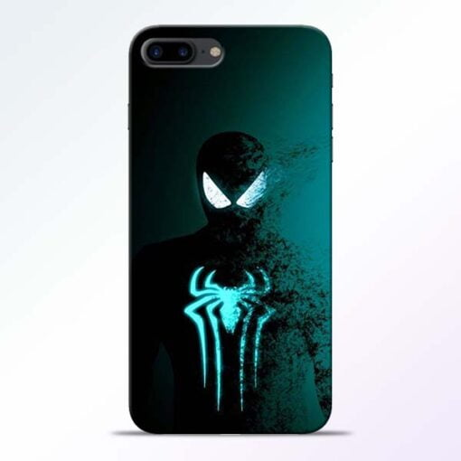 Buy Black Spiderman iPhone 8 Plus Mobile Cover at Best Price