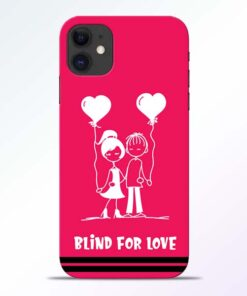 Blind Love iPhone 11 Mobile Cover