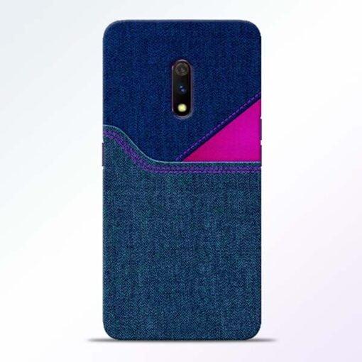 Blue Jeans Realme X Mobile Cover