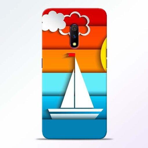 Boat Art Realme X Mobile Cover