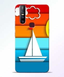 Boat Art Vivo V15 Mobile Cover