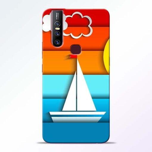 Boat Art Vivo V15 Mobile Cover