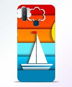 Boat Art Vivo Y17 Mobile Cover