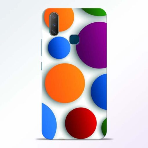 Bubble Pattern Vivo Y17 Mobile Cover