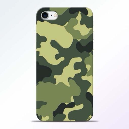 Buy Camouflage iPhone 7 Mobile Cover at Best Price