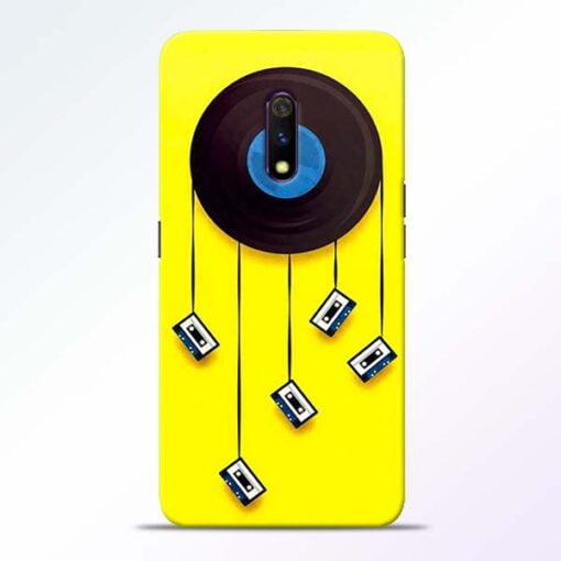 Cassette Tape Realme X Mobile Cover