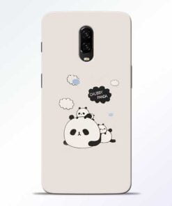 Chubby Panda OnePlus 6T Mobile Cover