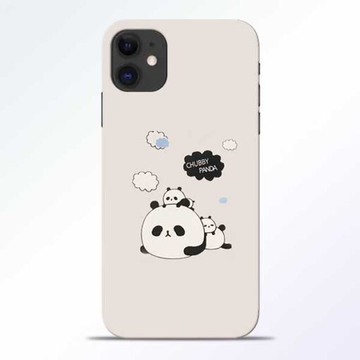 Chubby Panda iPhone 11 Mobile Cover