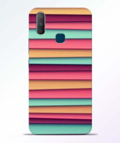 Color Stripes Vivo Y17 Mobile Cover