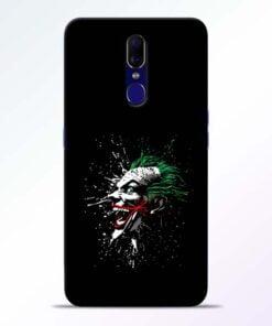 Crazy Joker Oppo F11 Mobile Cover