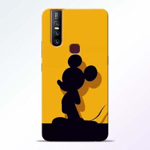 Cute Mickey Vivo V15 Mobile Cover