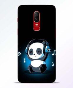 DJ Panda OnePlus 6 Mobile Cover
