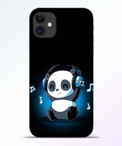 DJ Panda iPhone 11 Mobile Cover