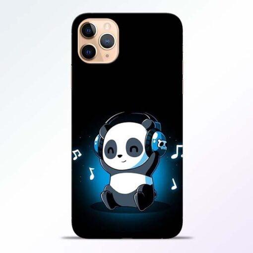 DJ Panda iPhone 11 Pro Mobile Cover