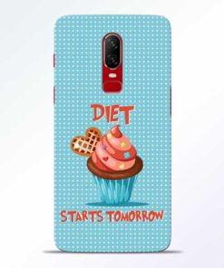 Diet Start OnePlus 6 Mobile Cover