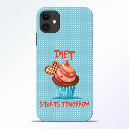 Diet Start iPhone 11 Mobile Cover