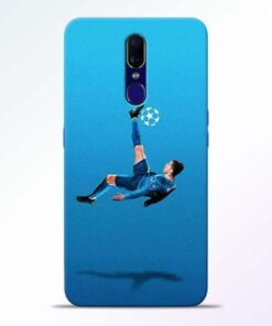 Football Kick Oppo F11 Mobile Cover