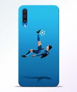 Football Kick Samsung A50 Mobile Cover - CoversGap
