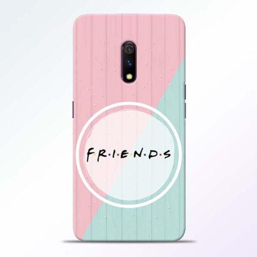 Friends Realme X Mobile Cover
