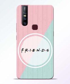 Friends Vivo V15 Mobile Cover