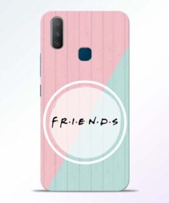 Friends Vivo Y17 Mobile Cover