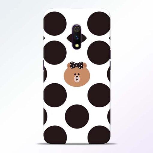 Girl Panda Realme X Mobile Cover