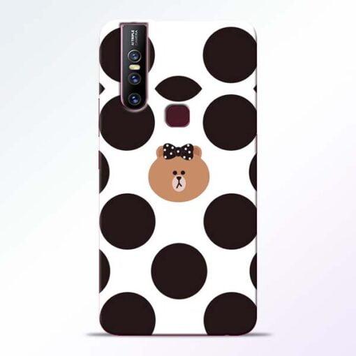 Girl Panda Vivo V15 Mobile Cover