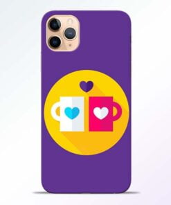 Heart Cup iPhone 11 Pro Mobile Cover