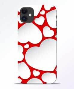 Heart Shape iPhone 11 Mobile Cover
