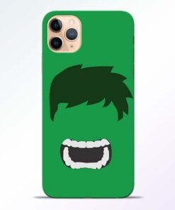 Hulk Face iPhone 11 Pro Mobile Cover