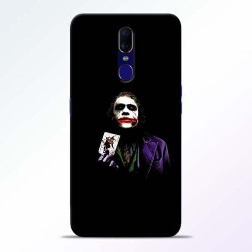Joker Card Oppo F11 Mobile Cover